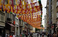 Istiklal-Straße Istanbul - die Straße der Demonstrationen - the road of demonstrations