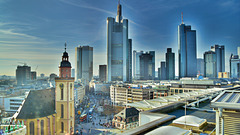 Frankfurt Main Skylines