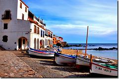 """""""El Port Bo"""" - Calella de Palafrugell - Costa Brava - Girona"""
