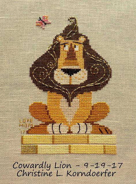 Cowardly Lion - 9-19-17