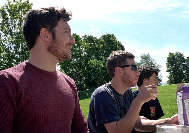 Colin, Ari, Andre