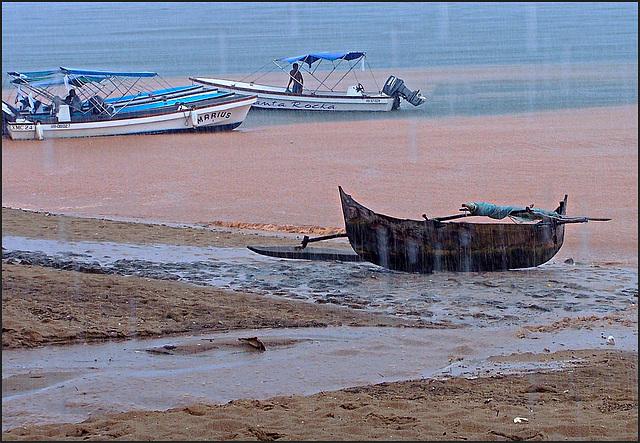 sudden tropical storm - Madagascar Nosy Komba -