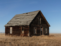 A prairie homestead