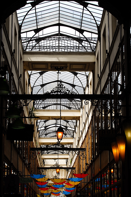 Paris, rue Saint Denis, passage