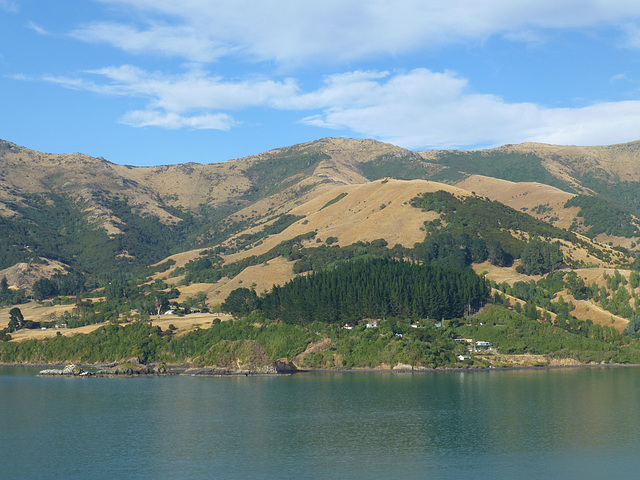 Across Akaroa Harbour (2) - 28 February 2015