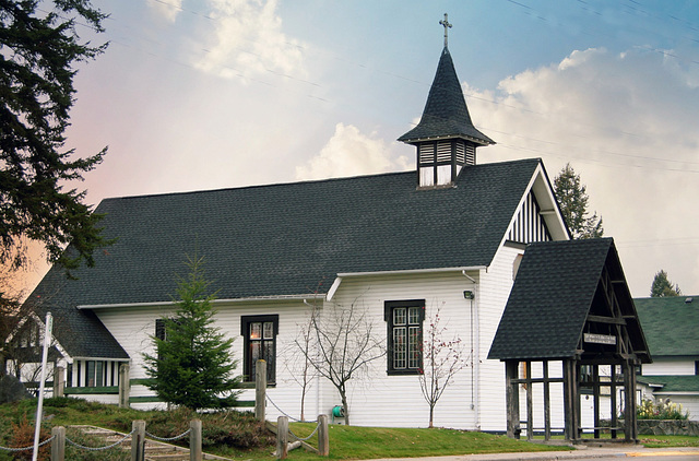 Anglican Church - Quesnel, BC
