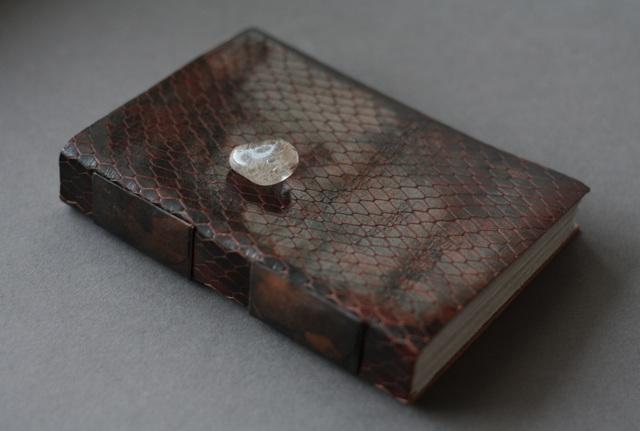 Snakeskin sketchbook