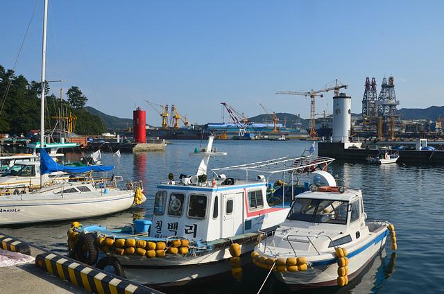 Opko fishing village