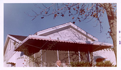 Cloyd in Front of the House, Xmas 1961