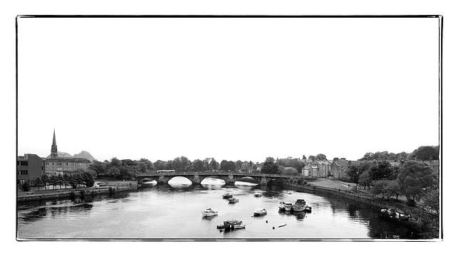 River Leven and Dumbarton Bridge