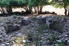 Ruins of an orthodox church