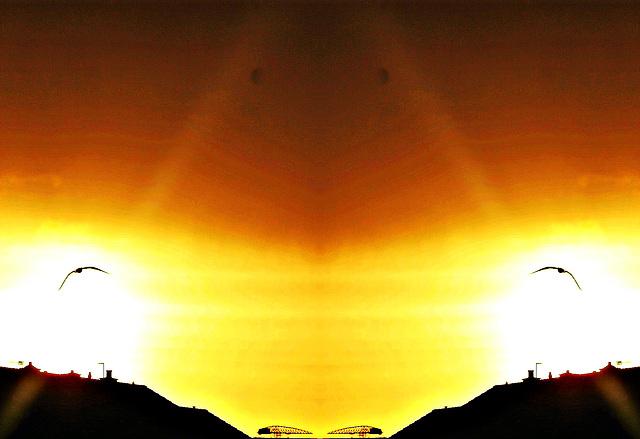 SSC~Dramatic Sunrise