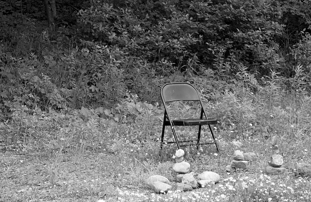 Rocks 'n' chair