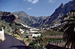 Gran Canaria - Valle de Agaete (20 years ago)