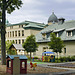 Dawson College – Viewed from de Maisonneuve Boulevard near Wood Avenue, Westmount, Québec