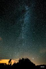 The stars are bright tonight...