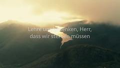 Ehe denn die Berge wurden (Lyric Video)