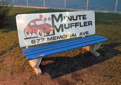 Muffler bench / banc silencieux