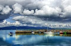 Dungarvan Bay, Waterford, Ireland.