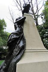 sir arthur sullivan monument, embankment, london (3)