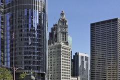 The Wrigley Building, Take #1 – Viewed from the State Street Bridge, Chicago, Illinois, United States