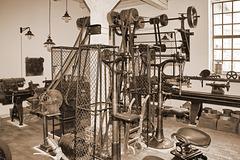 Hagenow, Werkstatt mit Transmission