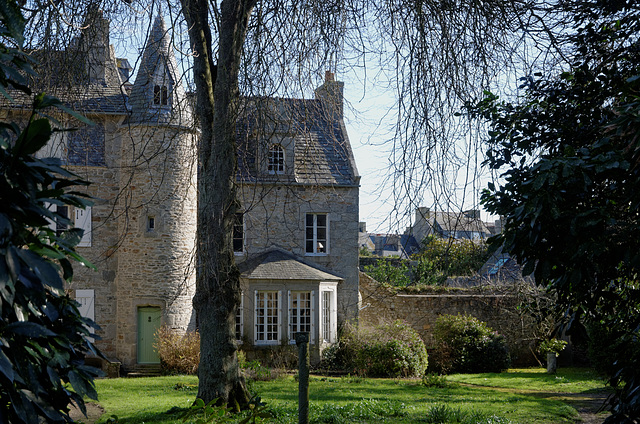 Un exemple de belle demeure à Roscoff