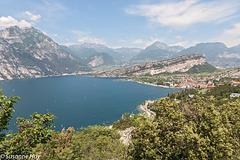 Gardasee mit Monte Brione