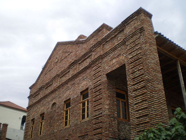 Bricks building.
