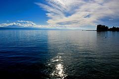 Le ciel et le lac