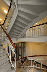 HFF: Treppen im Henneberghaus -Staircase #36/50