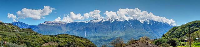 Monte Baldo in primavera. ©UdoSm