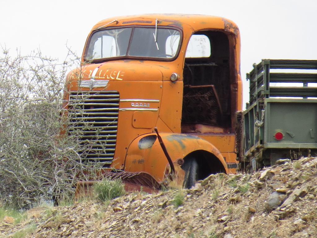 1940s Dodge COE (cab over engine) Truck