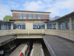 acton town tube station, london