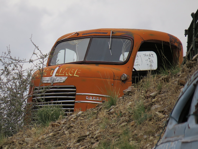 1940s Dodge COE (cab over engine) Truck