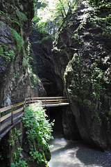 oberhalb der Staufensees - am Ende der Alplochschlucht (© B