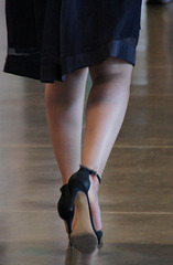 heels walking