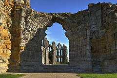 Whitby Abbey Church - West Front (2 x PiPs)