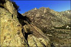 Sierra de La Cabrera granite. PLEASE STAY, DON'T RUN AWAY!!!