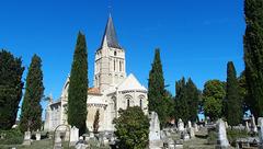 L'église Saint Pierre d'Aulnay