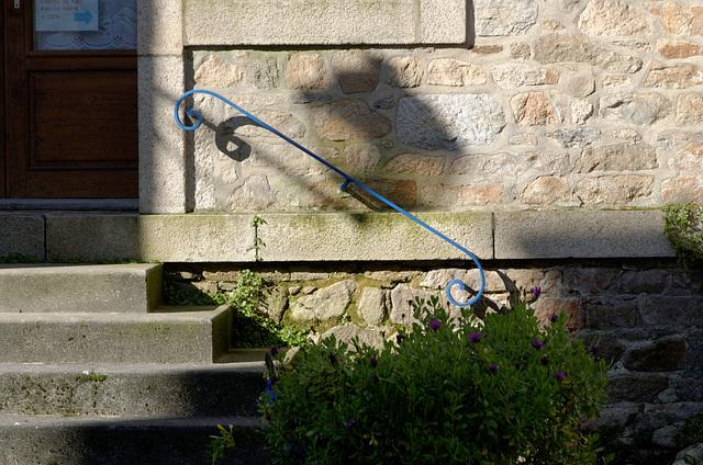 La rampe bleue