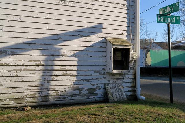 Street Sign & Shadow