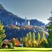 Castle Neuschwanstein in Autumn. ©UdoSm