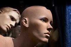 I spy .... mannequin emotions