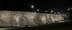 SALAMANQUE - Espagne, le Pont Romain.
