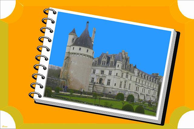 Château de Chenonceau... En livre