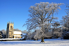 St. Oswald's church in winter ~ Blankney ~ Lincolnshire