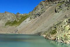 Lac de l'Eychauda, Parc national des Ecrins (Hautes-Alpes, France)