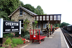 Overton ( for Ferry Meadows ) Station