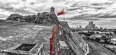 San Miguel BArajas Castle: Cartagena, HFF